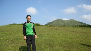 Mt.Talamitam at the horizon - we're just the same height!
