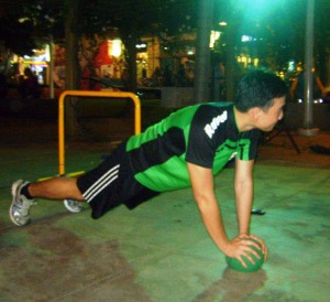 Muscular Endurance.