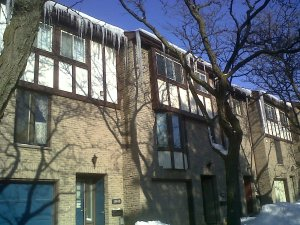 Big icicles!